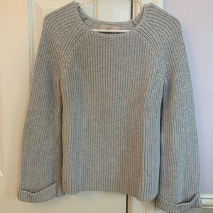 Loft bell sleeve sweater